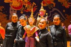 Tajlandzka tradycyjna kukła obraz royalty free
