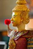 Tajlandzka tradycyjna kukła zdjęcie royalty free