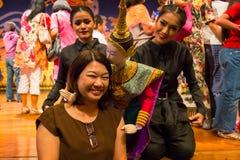 Tajlandzka tradycyjna kukła obraz stock