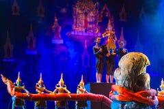 Tajlandzka tradycyjna kukła zdjęcia royalty free