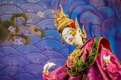 Tajlandzka Tradycyjna Mała kukła Zdjęcie Stock