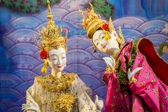 Tajlandzka Tradycyjna Mała kukła Obraz Stock