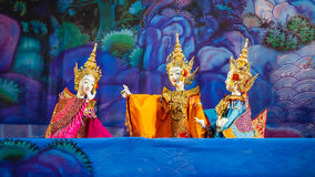 Tajlandzka Tradycyjna Mała kukła Zdjęcia Royalty Free