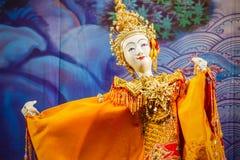 Tajlandzka Tradycyjna Mała kukła Obraz Royalty Free
