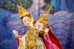 Tajlandzka Tradycyjna Mała kukła Zdjęcie Royalty Free