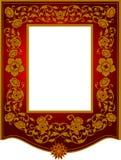 Tajlandzka wzór rama Zdjęcia Royalty Free