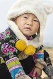 Tajlandzka wzgórza plemienia chłopiec obraz stock