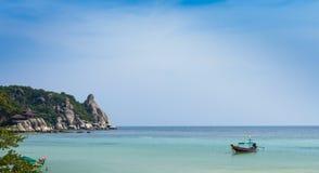 tajlandzki łódkowaty longtail Fotografia Royalty Free