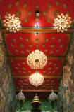 Tajlandzki świątynia dach Obrazy Royalty Free