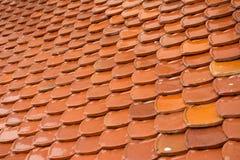 Tajlandzki świątynia dachu tło Obrazy Royalty Free