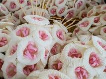 Tajlandzki Żałobny kwiat & x28; sztucznego kwiatu use dla cremation& x29; Zdjęcie Stock