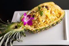Tajlandzki ananas Smażący Rice zdjęcia royalty free