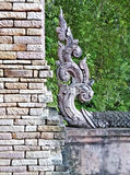 Tajlandzki architektoniczny ornament Zdjęcia Royalty Free