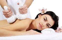 Tajlandzki Balowy masaż Zdjęcie Royalty Free