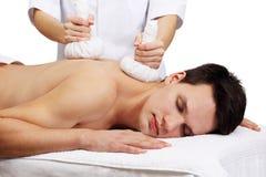 Tajlandzki Balowy masaż Obrazy Royalty Free