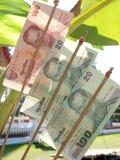 Tajlandzki banknot Zdjęcie Stock