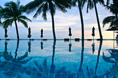 Tajlandzki basen Fotografia Royalty Free