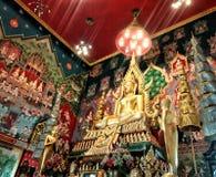 Tajlandzki Buddha i morał w świątyni Obrazy Royalty Free
