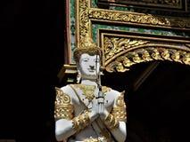 Tajlandzki Buddha w świątyni w Chiang Raja Fotografia Royalty Free