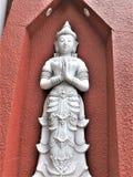 Tajlandzki Buddha w świątyni w Chiang Raja Obrazy Stock