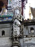 Tajlandzki Buddha w świątyni w Chiang Raja Zdjęcie Stock