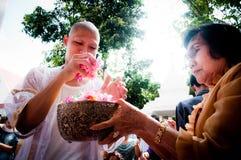 tajlandzki ceremonii buddyjski wyświęcenie Obrazy Stock