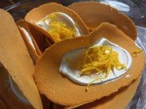 Tajlandzki Crispy blin Fotografia Stock