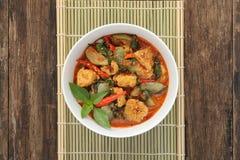 Tajlandzki czerwony curry obrazy stock