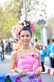tajlandzki dama uśmiech Obrazy Stock