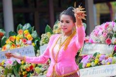 Tajlandzki dancingowy pogrzeb Zdjęcia Royalty Free