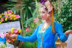 Tajlandzki dancingowy pogrzeb Zdjęcia Stock