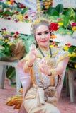 Tajlandzki dancingowy pogrzeb Obraz Stock