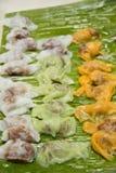 Tajlandzki deserowy kanom tajlandzki Obrazy Stock