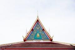 Tajlandzki gable2 Fotografia Royalty Free