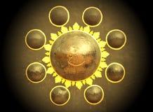Tajlandzki gong Obrazy Royalty Free