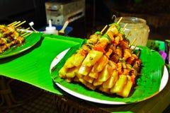 Tajlandzki grill Zdjęcia Stock