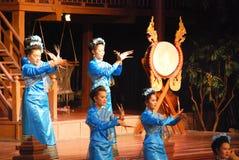 Tajlandzki gwoździa taniec Fotografia Stock