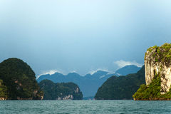 Tajlandzki Halny morze Fotografia Royalty Free
