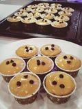 Tajlandzki herbaciany miękki warstwa tort na szkle Zdjęcie Royalty Free