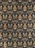 tajlandzki jedwabiu deseniowy styl Zdjęcie Royalty Free