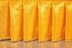 Tajlandzki jedwabniczej tkaniny textured tło zdjęcie stock