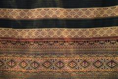 Tajlandzki jedwabniczej tkaniny wzór Zdjęcie Stock
