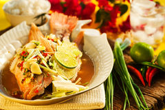Tajlandzki jedzenie Zdjęcie Stock