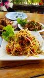 Tajlandzki jedzenie & x22; SomTum& x22; obraz stock