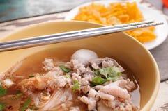 tajlandzki karmowy kluski zdjęcie royalty free