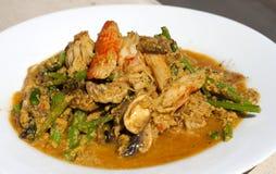 Tajlandzki karmowy korzenny curry Fotografia Royalty Free