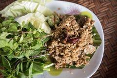 Tajlandzki karmowy tradycyjny, karmowy pojęcie, Obraz Royalty Free
