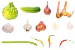 Tajlandzki karmowy warzywo, korzenny smak Obraz Royalty Free