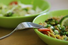 Tajlandzki karmowy wyśmienicie na stole Obraz Stock