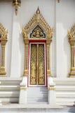 Tajlandzki kościelny drzwi Obrazy Stock